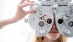 Test optometrico visivo