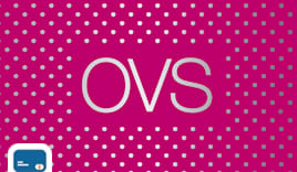 Ovs shopping card