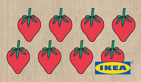 Ikea shopping card