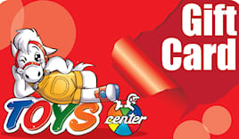 Toys center shopping card