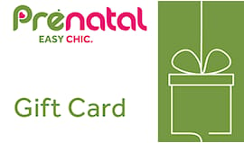 Prenatal shopping card