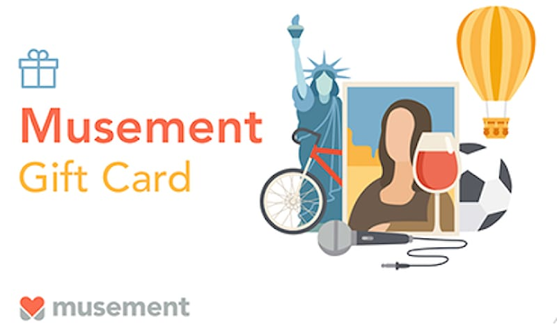 MUSEMENT SHOPPING CARD