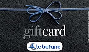 Le befane shopping card