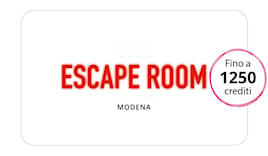 Escape room shopping card