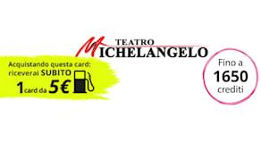 Teatro michelangelo card