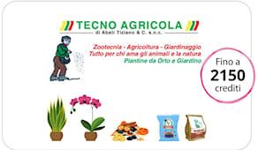 Tecnoagricola shop card