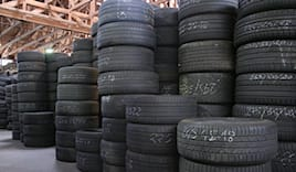 - 20% pneumatici usati