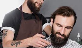 Omagg. taglio uomo+barba
