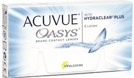 Acuvue oasys in omaggio