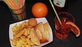 Prosecco o spritz+ fritto