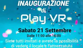 Inaugurazione play vr