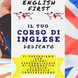 ENGLISH FIRST  scuola lingue